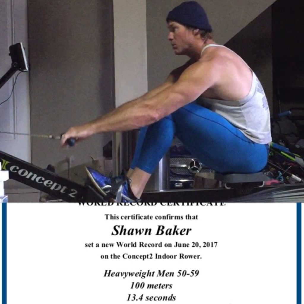 Shawn Baker Row and world record