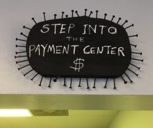 Step Into the Payment Center