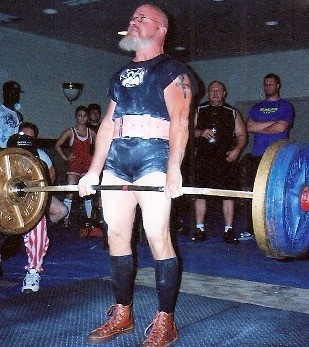 Doug Holland Deadlifting