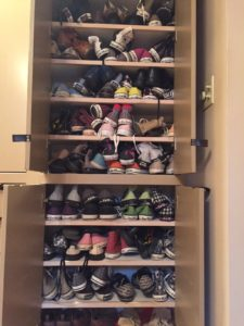 Doug Holland's Collection of Converse Sneakers