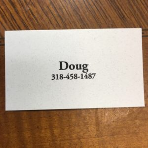 Doug Holland's Business Card