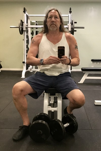 Richard Nikoley Working Out