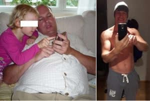 Nick Paterson's before and after ..... DAMN